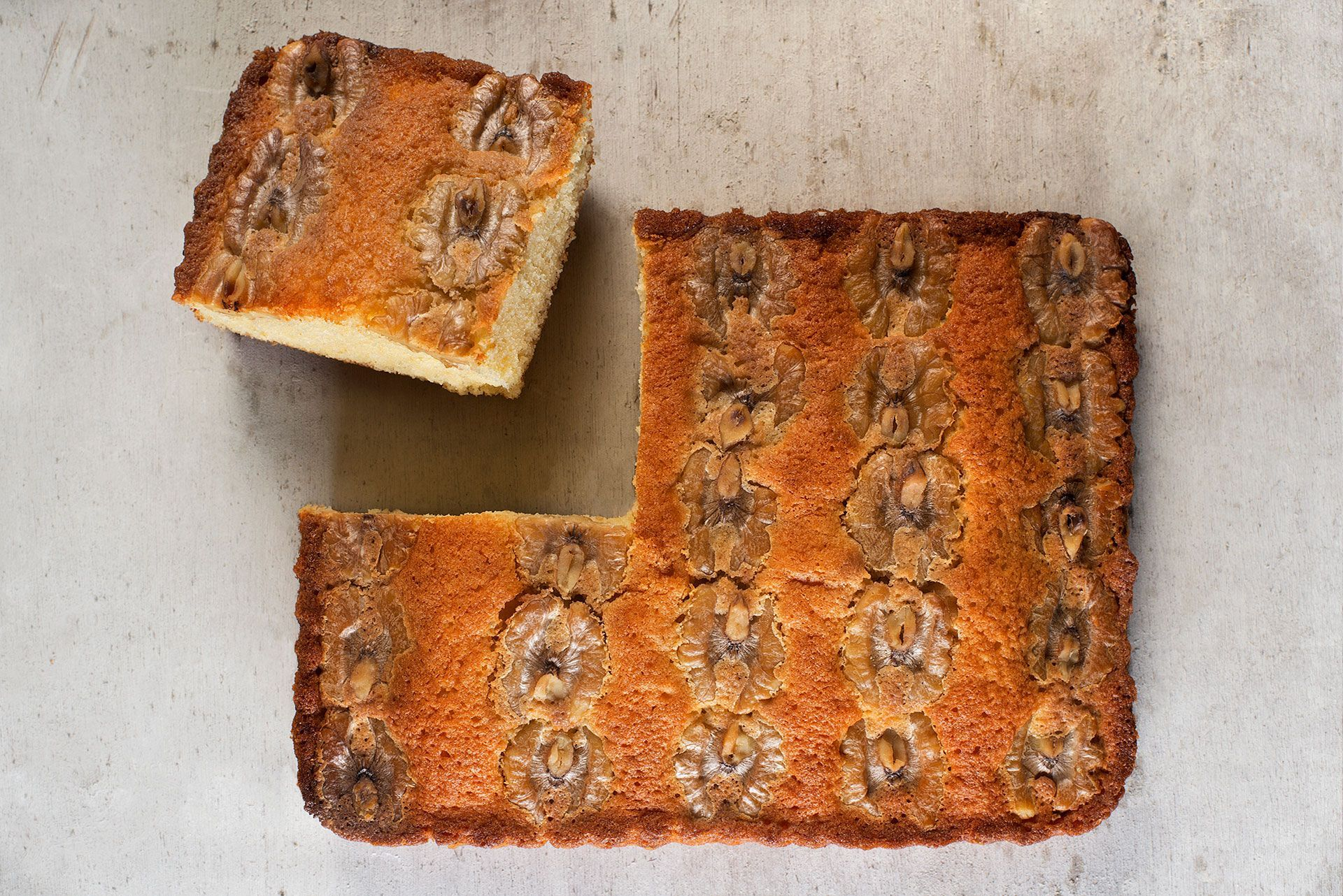 pastel nueces artesano de cantabria