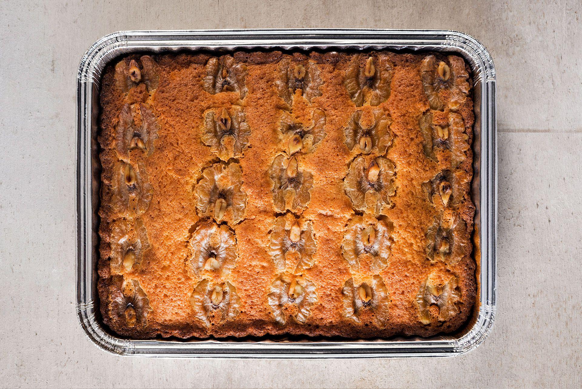 pastel nueces artesano